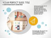 Presentation Templates: Modern Presentation in Flat Design Style #03604