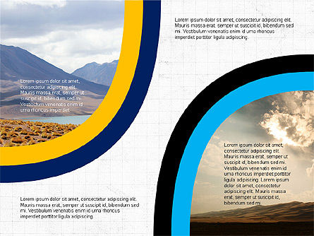 Arrows and Circles, Slide 3, 03608, Presentation Templates — PoweredTemplate.com