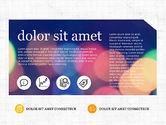 Presentation Templates: Moderne und kreative präsentationsvorlage im flachen designstil #03609