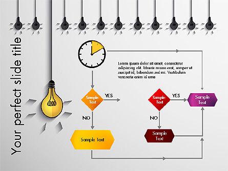 Profitable Business Idea Presentation Template, Slide 2, 03610, Presentation Templates — PoweredTemplate.com