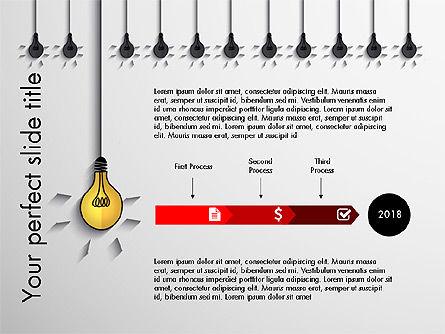 Profitable Business Idea Presentation Template, Slide 4, 03610, Presentation Templates — PoweredTemplate.com