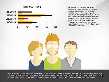 Creative Team Presentation Concept, 03612, Presentation Templates — PoweredTemplate.com