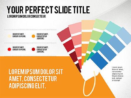 Creative Team Presentation Concept, Slide 2, 03612, Presentation Templates — PoweredTemplate.com