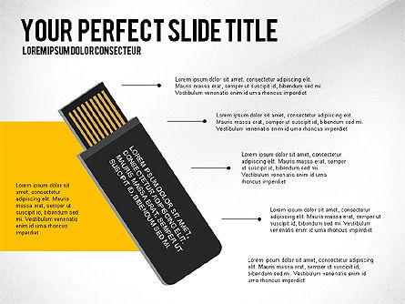 Creative Team Presentation Concept, Slide 3, 03612, Presentation Templates — PoweredTemplate.com
