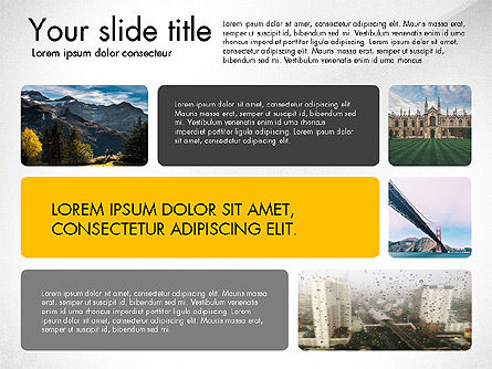 Presentation Template with Photos, Slide 4, 03613, Presentation Templates — PoweredTemplate.com