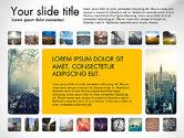 Presentation Templates: Presentatie sjabloon met foto's #03613