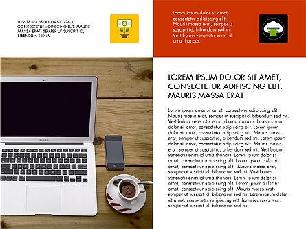 Modern Technology Presentation Concept, Slide 2, 03614, Presentation Templates — PoweredTemplate.com