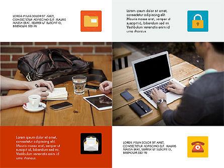 Modern Technology Presentation Concept, Slide 4, 03614, Presentation Templates — PoweredTemplate.com