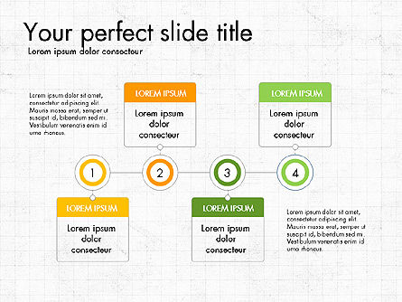 Process and Stages Presentation Concept, Slide 2, 03619, Process Diagrams — PoweredTemplate.com