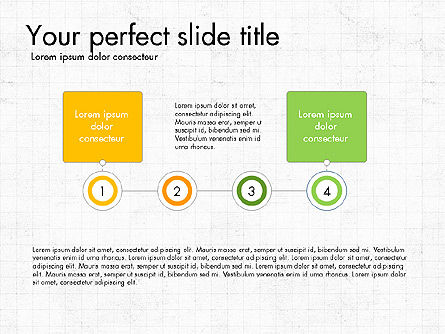 Process and Stages Presentation Concept, Slide 4, 03619, Process Diagrams — PoweredTemplate.com