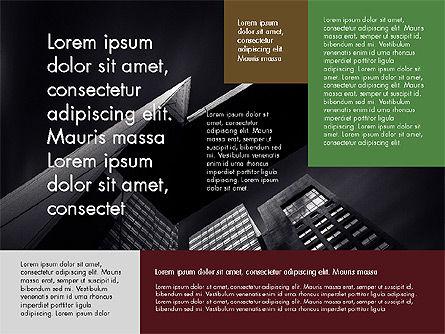 Fragmented Presentation Concept, Slide 3, 03623, Presentation Templates — PoweredTemplate.com