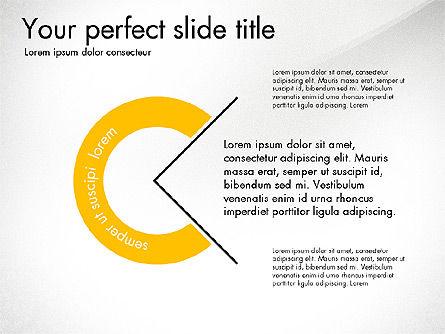 Presentation Templates: Ponte slide con grafici orbita #03625
