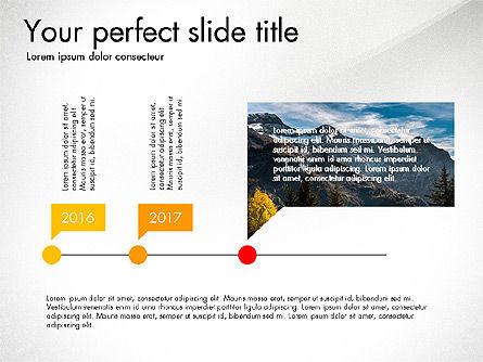 Slide Deck with Orbit Charts, Slide 2, 03625, Presentation Templates — PoweredTemplate.com