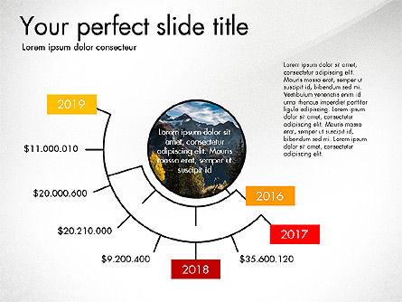 Slide Deck with Orbit Charts, Slide 3, 03625, Presentation Templates — PoweredTemplate.com