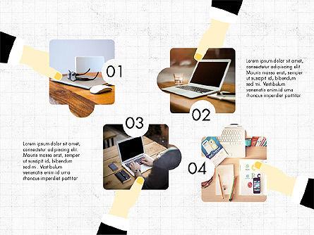 Teamwork Concept with Puzzle Pieces, Slide 4, 03626, Presentation Templates — PoweredTemplate.com