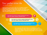 Presentation Templates: Flat Designed Report Presentation Deck #03641
