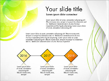 Presentation Templates: Presentation in Green Colors #03642