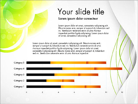 Presentation in Green Colors, Slide 2, 03642, Presentation Templates — PoweredTemplate.com