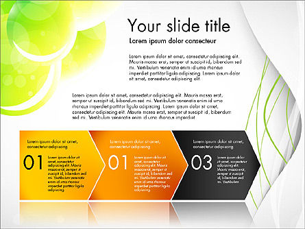 Presentation in Green Colors, Slide 4, 03642, Presentation Templates — PoweredTemplate.com