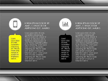 Icons and Text Boxes Slide Deck Slide 3