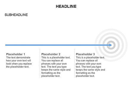 Goal Timeline, Slide 2, 03677, Timelines & Calendars — PoweredTemplate.com