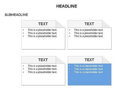 Process Blocks, Slide 4, 03679, Process Diagrams — PoweredTemplate.com