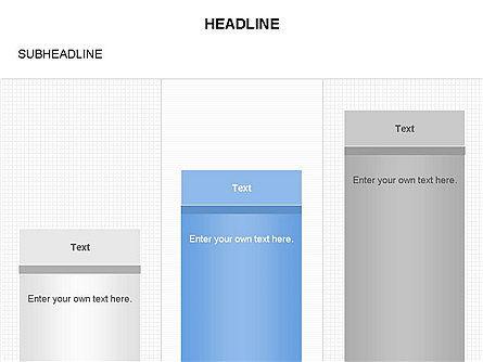 Column Charts, Slide 3, 03680, Graph Charts — PoweredTemplate.com
