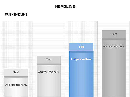 Column Charts, Slide 4, 03680, Graph Charts — PoweredTemplate.com