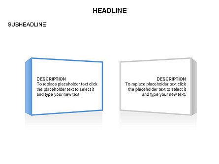 Text Blocks, Slide 2, 03685, Text Boxes — PoweredTemplate.com