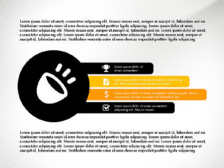 Presentation with Flat Designed Shapes, Slide 3, 03692, Presentation Templates — PoweredTemplate.com