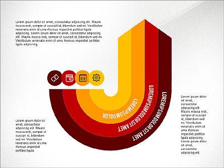 Process Diagrams: Proceso Infográfico #03693