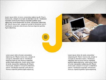 Infographics Process, Slide 2, 03693, Process Diagrams — PoweredTemplate.com