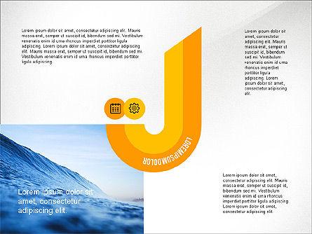 Infographics Process, Slide 3, 03693, Process Diagrams — PoweredTemplate.com