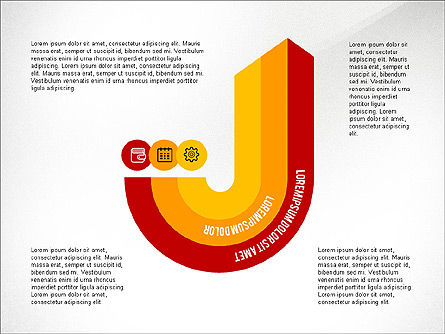 Infographics Process, Slide 4, 03693, Process Diagrams — PoweredTemplate.com