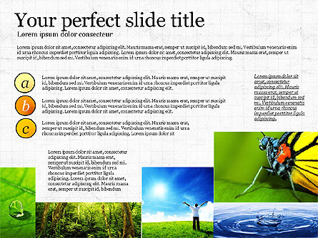 Earth Day, 03695, Presentation Templates — PoweredTemplate.com