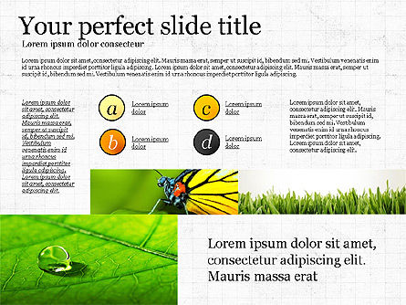 Earth Day, Slide 3, 03695, Presentation Templates — PoweredTemplate.com