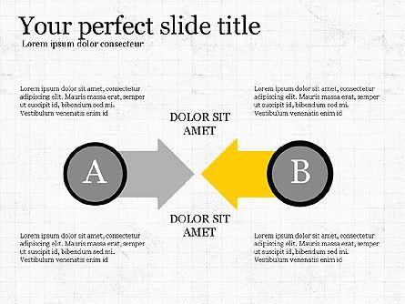 Interaction Concept, Slide 2, 03699, Process Diagrams — PoweredTemplate.com