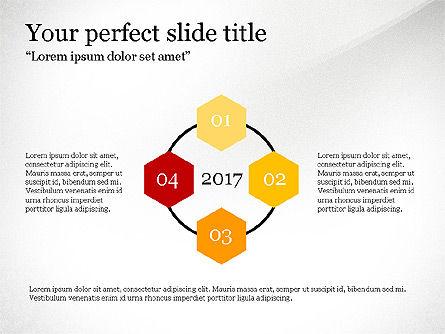Timeline Report, Slide 3, 03701, Presentation Templates — PoweredTemplate.com