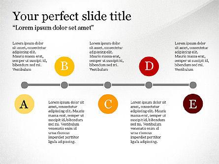 Timeline Report, Slide 4, 03701, Presentation Templates — PoweredTemplate.com