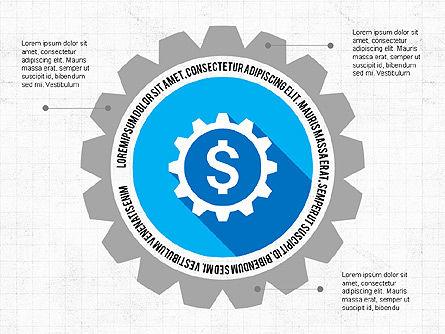 Infographics:  Apresentação financeira infográfico #03703