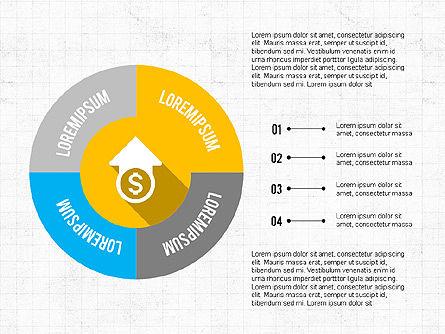Financial Infographic Presentation, Slide 2, 03703, Infographics — PoweredTemplate.com