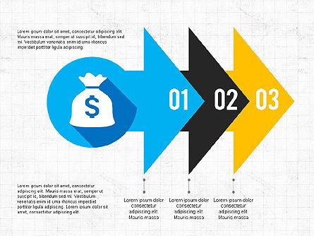 Financial Infographic Presentation, Slide 3, 03703, Infographics — PoweredTemplate.com