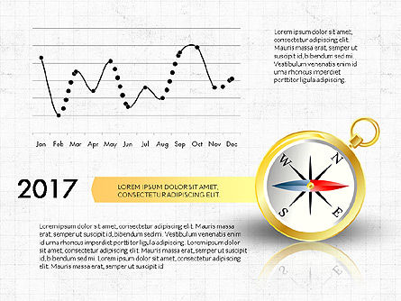 Wind Rose Infographics, Slide 2, 03706, Infographics — PoweredTemplate.com