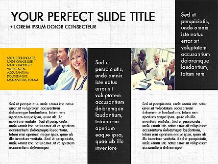 Grid Designed Team Presentation, Slide 2, 03708, Presentation Templates — PoweredTemplate.com