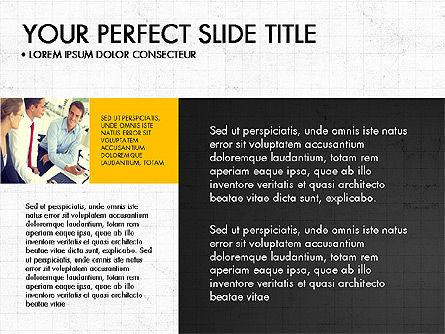 Grid Designed Team Presentation, Slide 3, 03708, Presentation Templates — PoweredTemplate.com