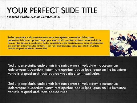 Grid Designed Team Presentation, Slide 4, 03708, Presentation Templates — PoweredTemplate.com