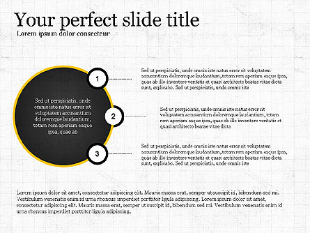 Presentation Templates: Flat Designed Report Template #03709