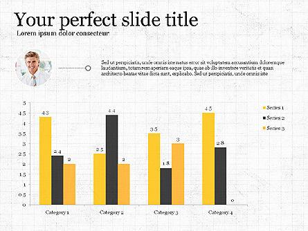 Flat Designed Report Template, Slide 2, 03709, Presentation Templates — PoweredTemplate.com