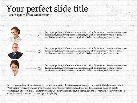 Flat Designed Report Template, Slide 3, 03709, Presentation Templates — PoweredTemplate.com