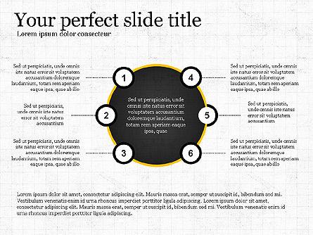 Flat Designed Report Template, Slide 4, 03709, Presentation Templates — PoweredTemplate.com